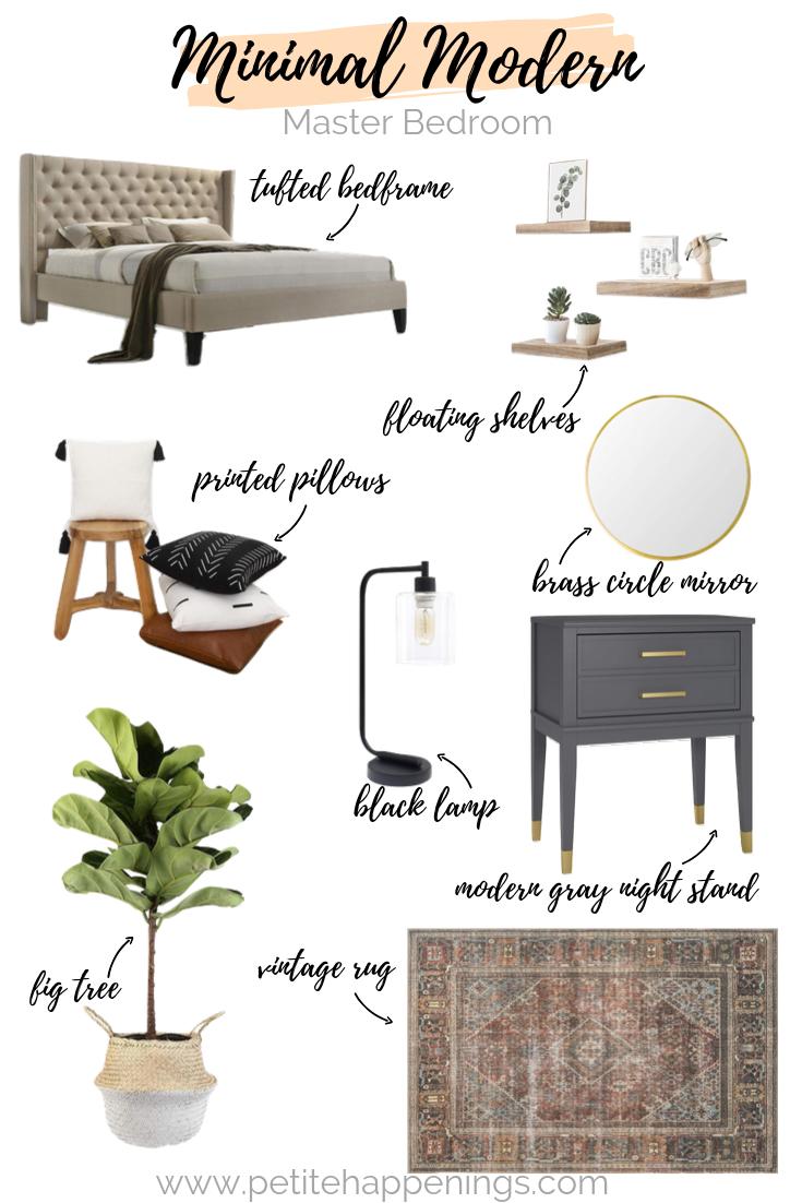 Master Bedroom Design from Amazon - Petite Happenings